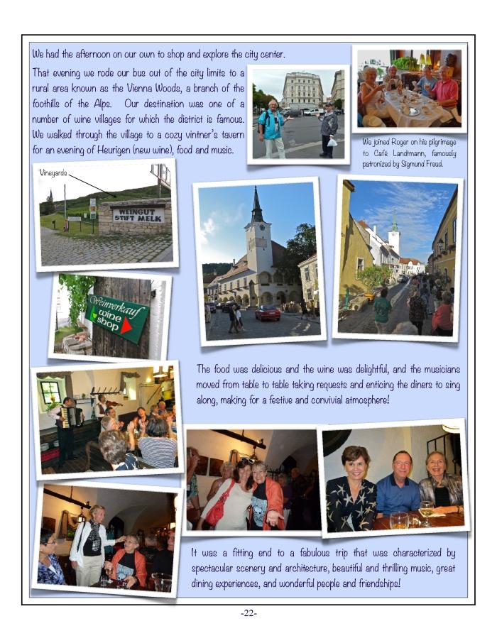The Danube, 2012 Tour, 22